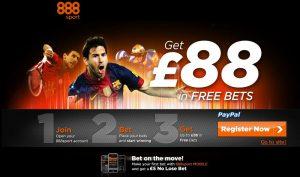 888sport букмекерская контора бесплатная ставка